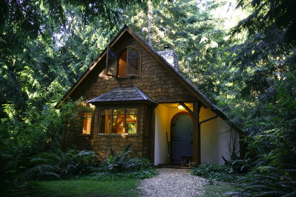 Hedgebrook Writer in Residency Cottage, Whidbey Island, Washington