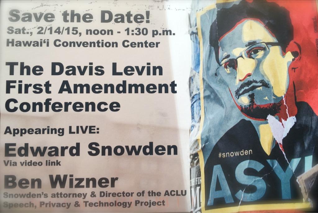 Davis Levin Snowden Event