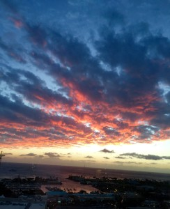 Sunset Over Kakaako